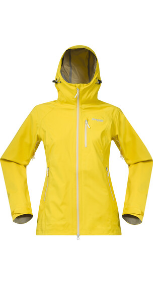 Bergans W's Eidfjord Jacket Dandelion/Alu/White